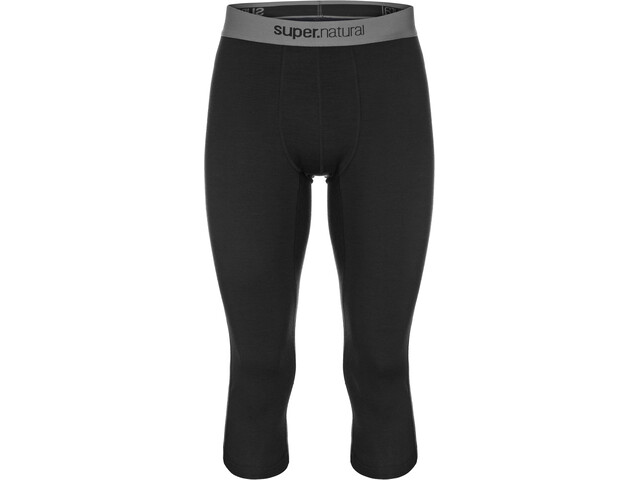 super.natural Base 3/4 Tights 175 Herren jet black